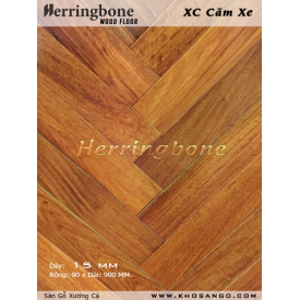 solid merbau herringbone flooring