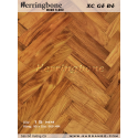 Wooden floor Red Fishbone