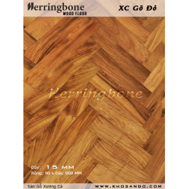 Sàn gỗ Gõ Đỏ Xương Cá