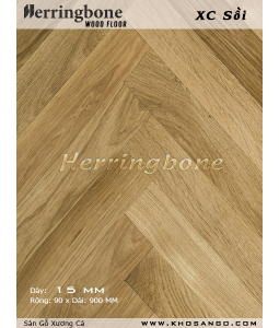 solid oak herringbone flooring