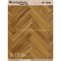 solid teak herringbone flooring