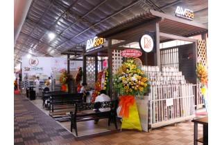 Thương hiệu Kho sàn gỗ tại lễ khai mạc hội chợ triển lãm VietBuild 2019