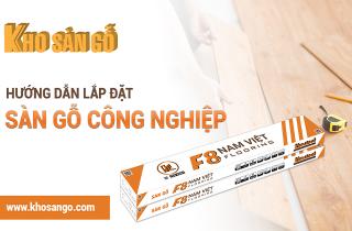 Video - Hướng dẫn thi công sàn gỗ giá rẻ F8