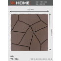 PVC Decking tiles VD - Brown