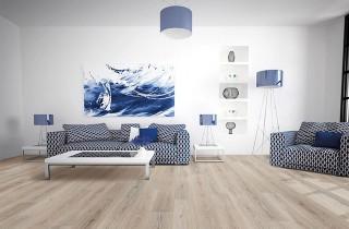 Sàn gỗ cốt đen Dreamlux cho ngôi nhà bạc tỷ