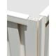 WPC V25x25-White