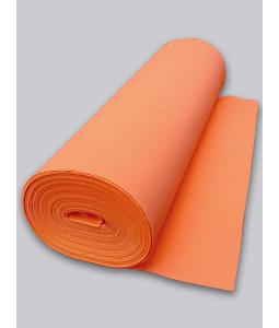 Orange Rubber Foam 2 mm