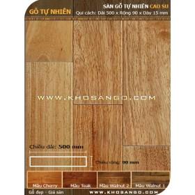 Sàn gỗ  cao su 500mm