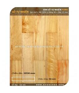 Pomu hardwood flooring 1050mm
