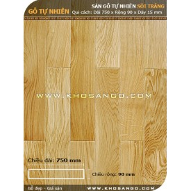 Sàn gỗ Sồi 750mm