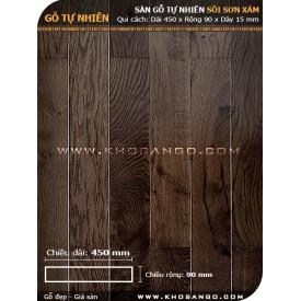 Sàn gỗ Sồi xám 450mm