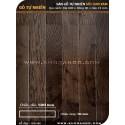 Dark brown Oak hardwood flooring 600mm