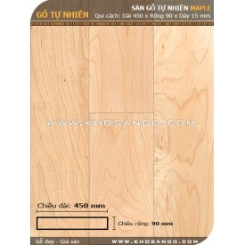 Sàn gỗ Thích cứng ( Maple) 450mm