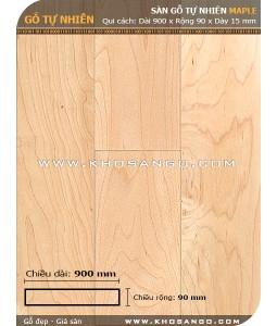 Sàn gỗ Thích cứng ( Maple) 900mm
