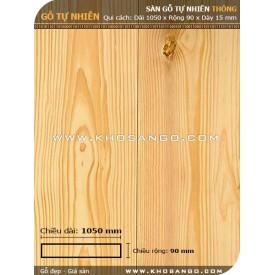 Sàn gỗ  thông 1050mm