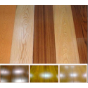 Hardwood skirting board
