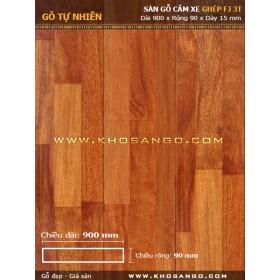 Sàn gỗ căm xe 3K 15x90x900
