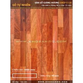 Sàn gỗ Giáng hương FJ3T 600mm