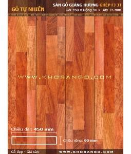 Sàn gỗ Giáng hương ghép FJ3T 450mm