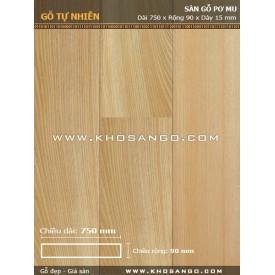 Pomu hardwood flooring 750mm