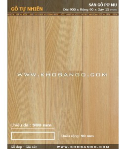 Pomu hardwood flooring 900mm