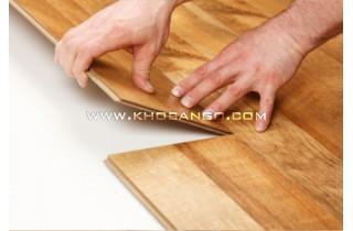 Cách lắp đặt sàn gỗ công nghiệp