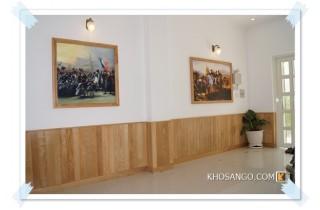 Mẫu thiết kế lamri gỗ ốp tường cho ngôi nhà Việt