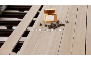 Hướng dẫn lắp đặt sàn gỗ ngoài trời AWood