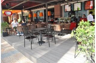 Xem bộ sưu tập sàn gỗ lót sàn quán coffee ngoài trời