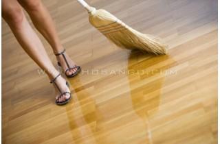 Cách cải thiện sàn gỗ củ