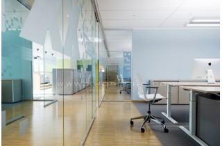 Mẫu thiết kế sàn gỗ văn phòng công ty, phòng làm việc cá nhân