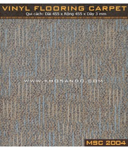 Vinyl Flooring Carpet  MSC2004