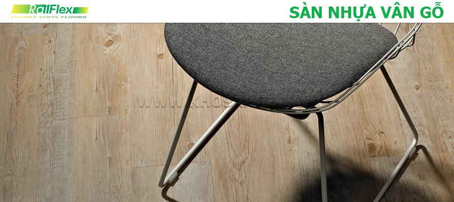Sàn nhựa vân gỗ Railflex