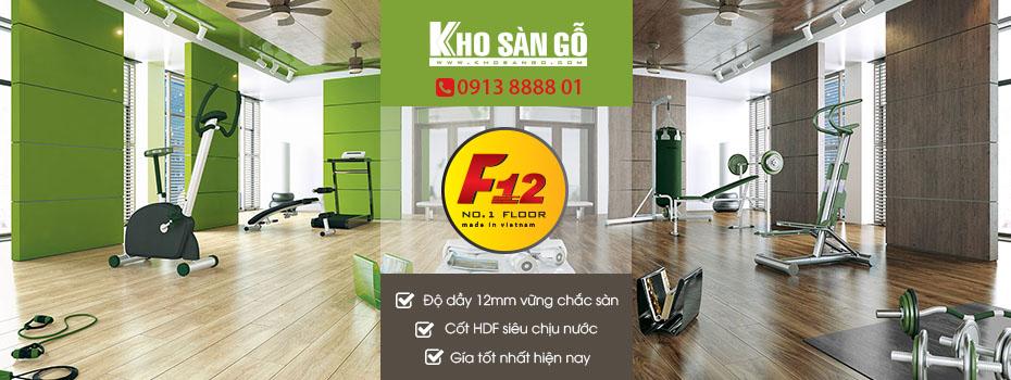 sàn gỗ giá rẻ F12