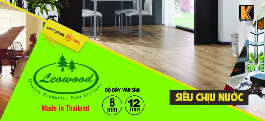 Sàn gỗ công nghiệp Leowood