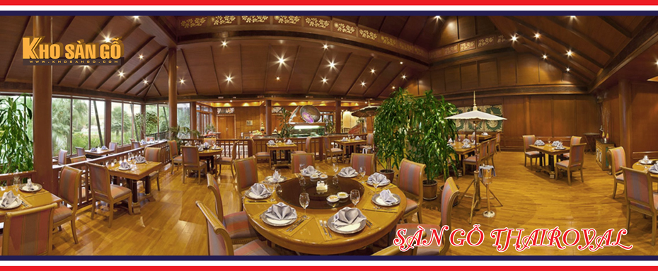 sàn gỗ công nghiệp ThaiRoyal