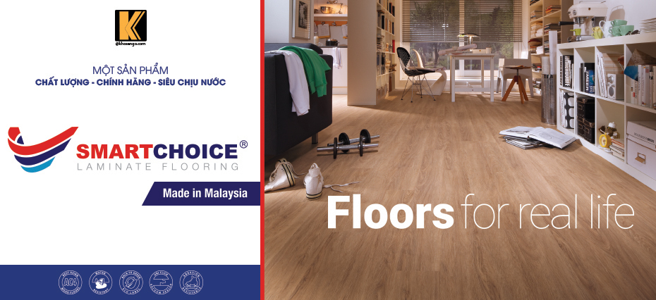 sàn gỗ smartchoice
