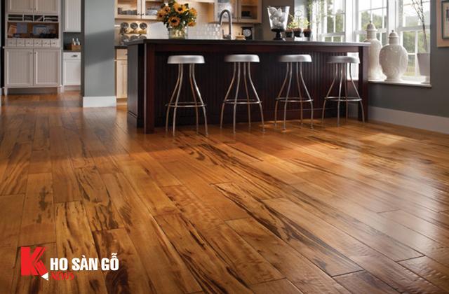 sàn gỗ tự nhiên lát sàn nội thất