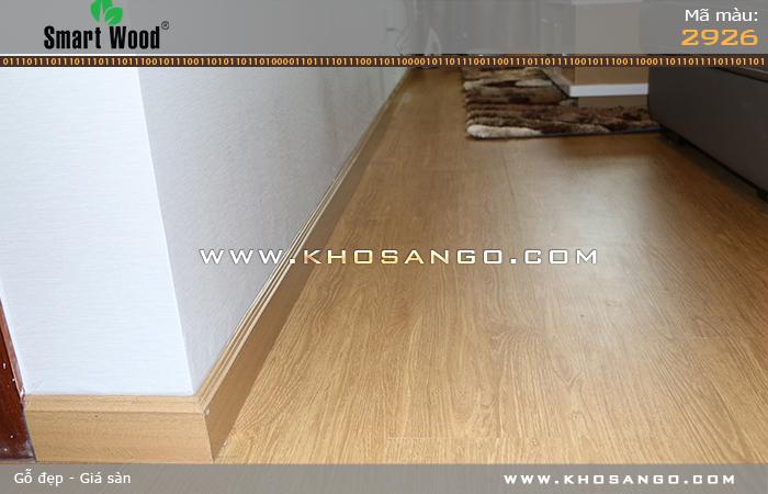 Sàn gỗ công nghiệp Smartwood 2926 trang trí cho không gian sống hiện đại