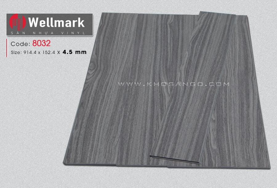 Sàn nhựa hèm khóa wellmark 8032