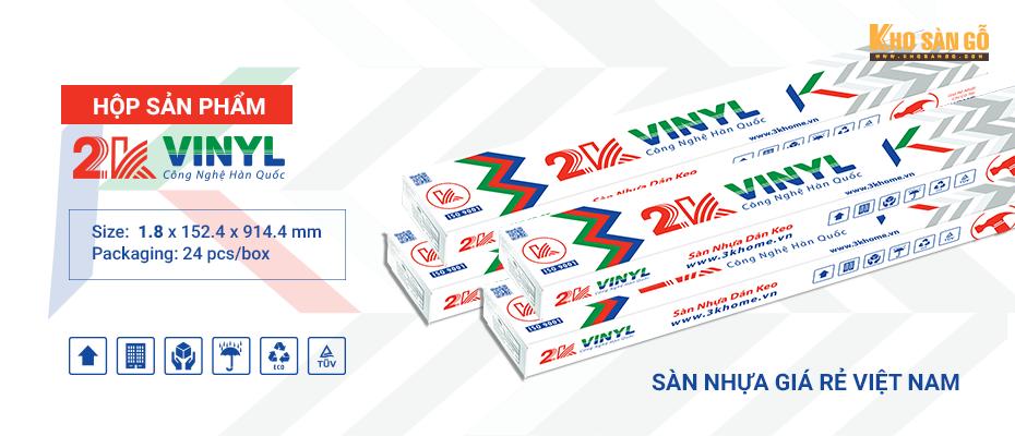hộp sàn nhựa 2K vinyl