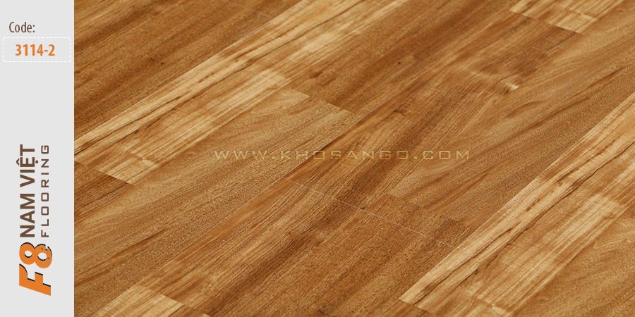 Sàn gỗ F8 Nam Việt 3114-2