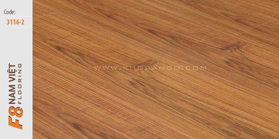 Sàn gỗ F8 Nam Việt 3116-2