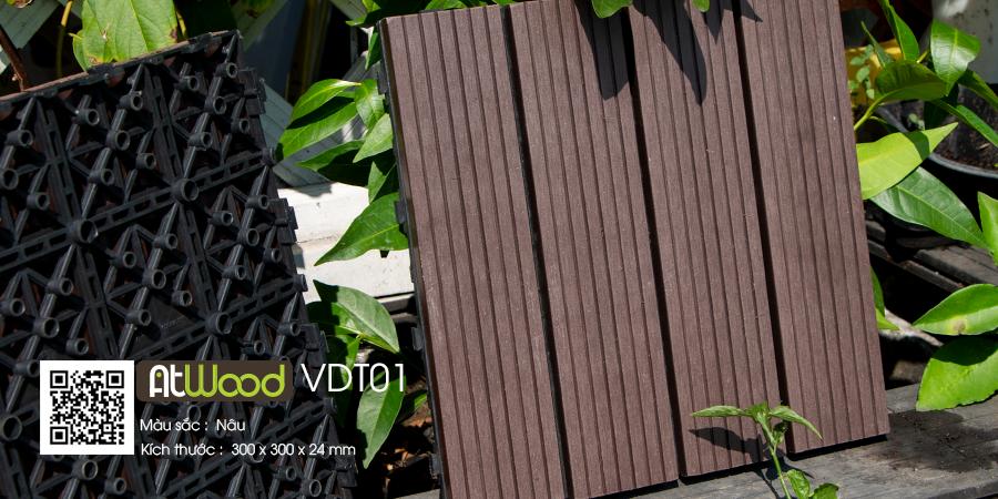 vỉ gỗ nhựa Atwood VDT01