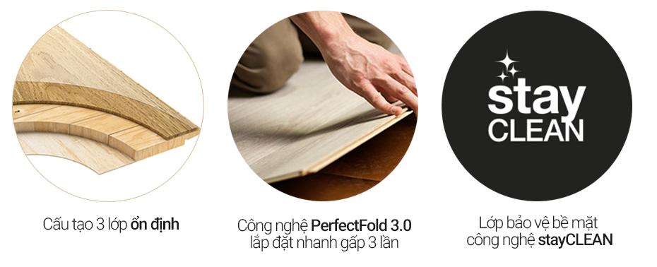 ưu điểm sàn gỗ pergo parquet