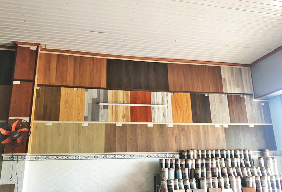 trưng bày sàn gỗ tại kho sàn gỗ biên hòa