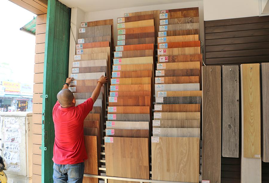 sàn gỗ tự nhiên tại kho sàn gỗ bình thạnh