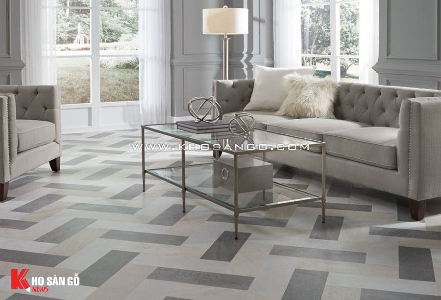 Sàn nhựa đa dạng màu sắc dể dàng trang trí hoàn thiện không gian sàn.