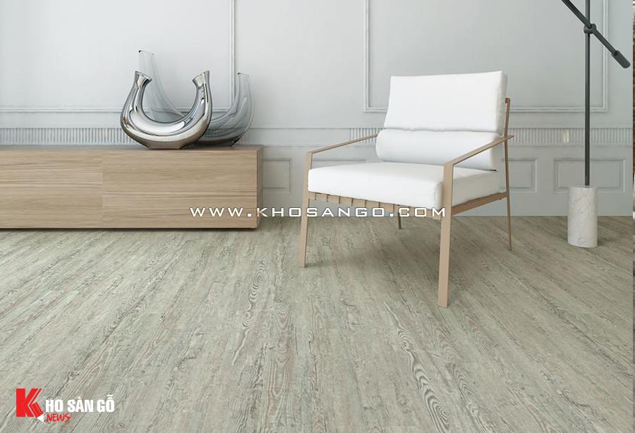 Sàn nhựa PVC vân gỗ tự nhiên thân thiện môi trường, an toàn sức khỏe người dùng.