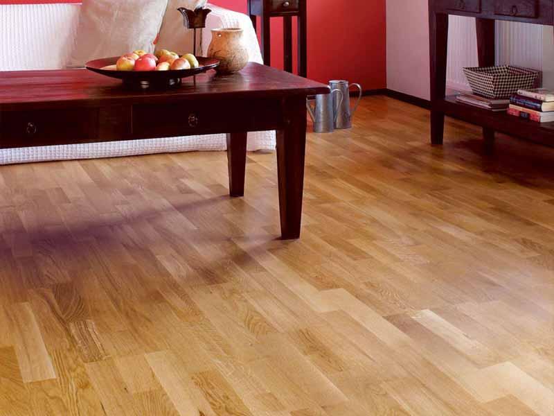 Sàn gỗ tự nhiên bền đẹp theo thời gian.